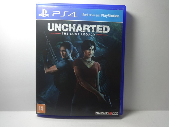 Uncharted The Lost Legacy Original Ps4 Play 4