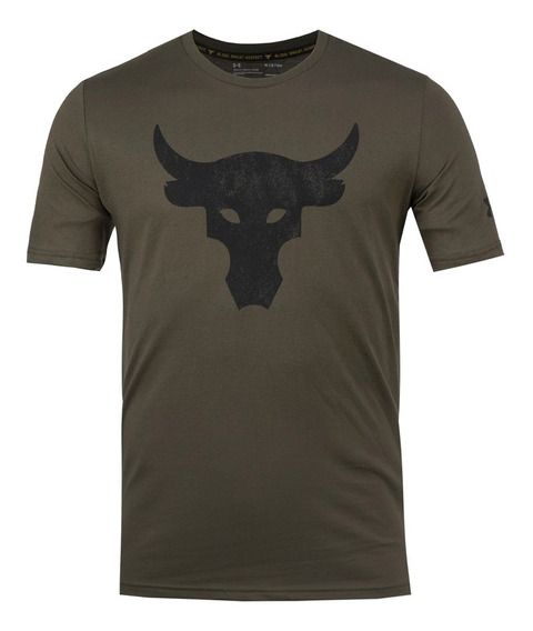 Playera Under Armour Project Rock Bull Hombre