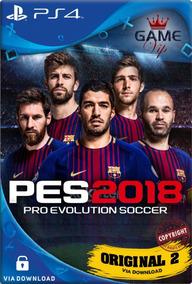 Pro Evolution Soccer 2018 Pes 18 Ps4 Psn Digital Code 1 Já!!