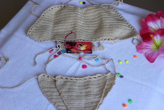 Vestidos De Baño Tejido Crochet