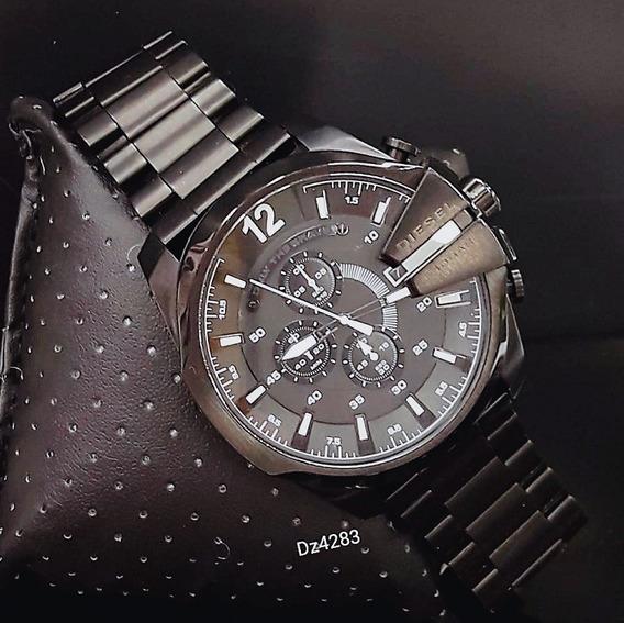 Relógio Diesel Dz4283 Preto Aço Inox 51mm - Mega Chief