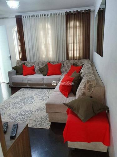 Imagem 1 de 19 de Sobrado Com 3 Dormitórios À Venda, 160 M² Por R$ 700.000,00 - Jardim Vila Galvão - Guarulhos/sp - So0276