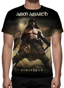 Camiseta Amon Amarth - Berserker - Estampa Total