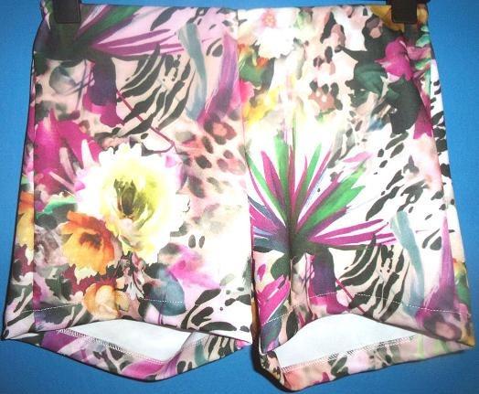 Liquidacion Rimmel Short Estampado Floral Denia Liquidoo!