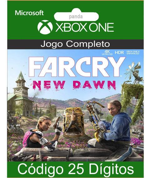 Far Cry New Dawn Xbox One Codigo 25 Digitos Oficial
