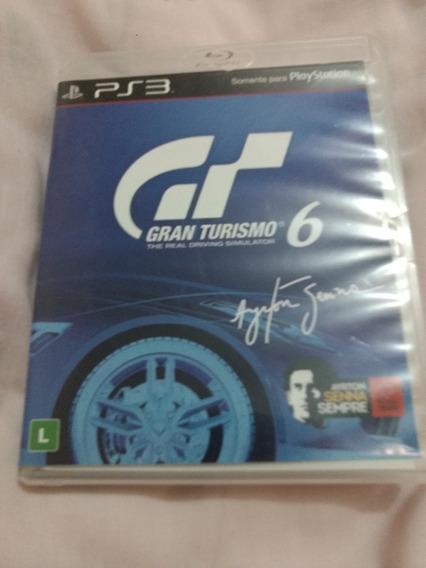 Gran Turismo 6 (ps3) Jogo De Corrida