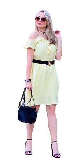 Vestido Midi Ciganinha Dress Moda Verão 2018 Soltinho