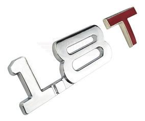 Emblema 1.8t 1.8 T Acessórios Audi A3 A4 A5 Vw Gol Golf Up