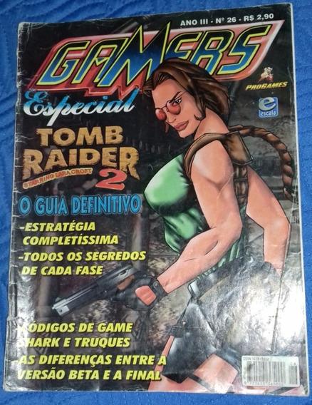 Revista Guia Definitivo Do Game Tomb Raider Ii Gamers