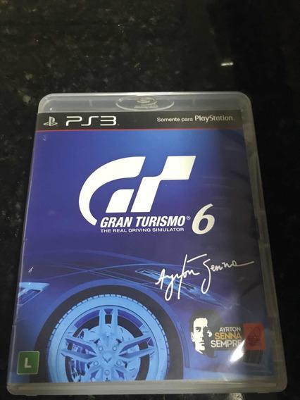 Jogo Ps3 Gran Turismo 6 Mídia Física Original