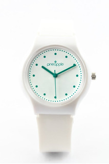 Reloj De Silicona Pineapple Honey Con Verde Pastel