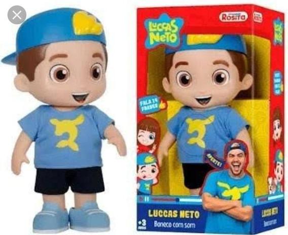 Boneco Lucas Neto Fala 14 Frases Original
