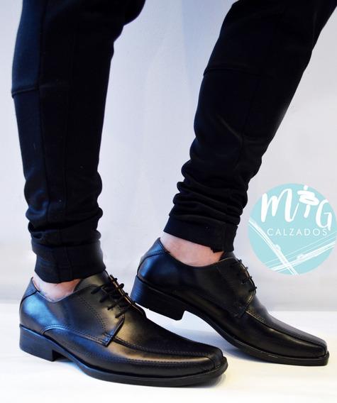 Zapatos De Vestir Hombre Casual Linea Italy Art 4450 Urbanos