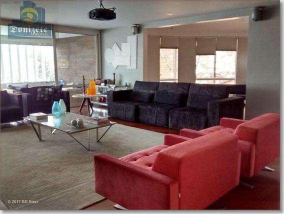 Apartamento Com 4 Dormitórios À Venda, 396 M² Por R$ 2.300.000,01 - Jardim - Santo André/sp - Ap3110