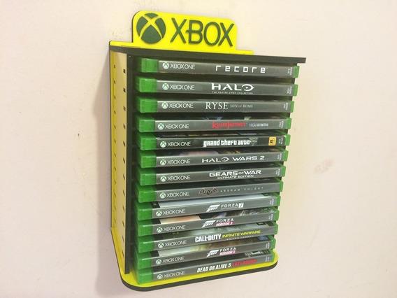 Porta Jogos, Case P/ Games, Fixar Na Parede - Xbox