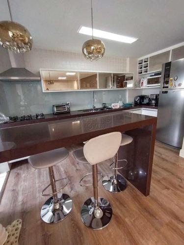 Apartamento Com 3 Dorms, Engordadouro, Jundiaí - R$ 690 Mil, Cod: 8830 - V8830