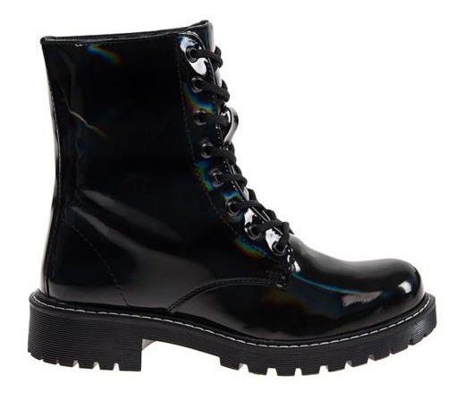 Bota Militar Tierra Bendita 4815 Color Negro