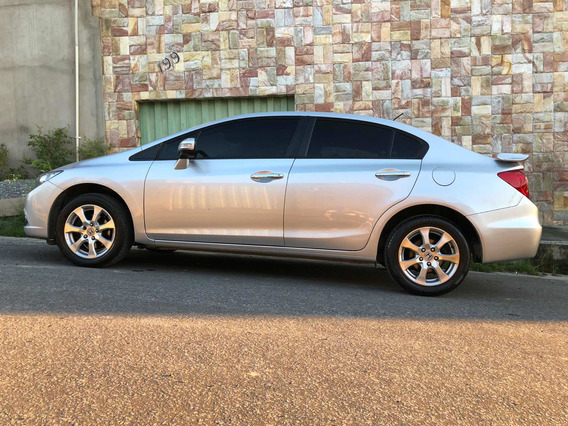 Honda Civic 1.8 Exs Flex Aut. 4p 2012