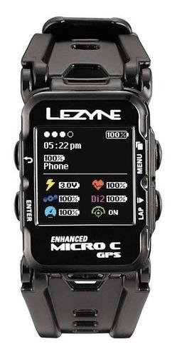 Reloj Gps Lezyne Micro C Watch Color Black