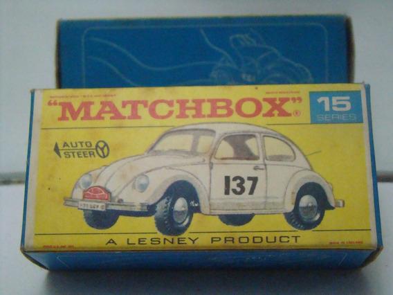 Matchbox Nº15 Volkswagen 1500 Fusca B900