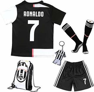 Birdbox Juvenil Ropa Deportiva C.ronaldo 7 Niños Camiseta D
