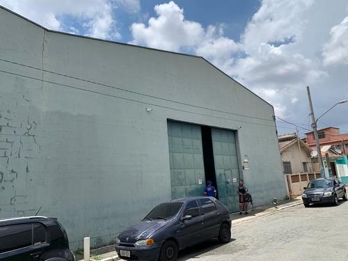 Imagem 1 de 11 de Galpão Para Alugar, 550 M² Por R$ 12.000/mês - Vila Carrão - São Paulo/sp - Ga0107