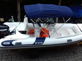 Bote G500 Seminovo, Impecável!!! Pronto Para Navegar!!