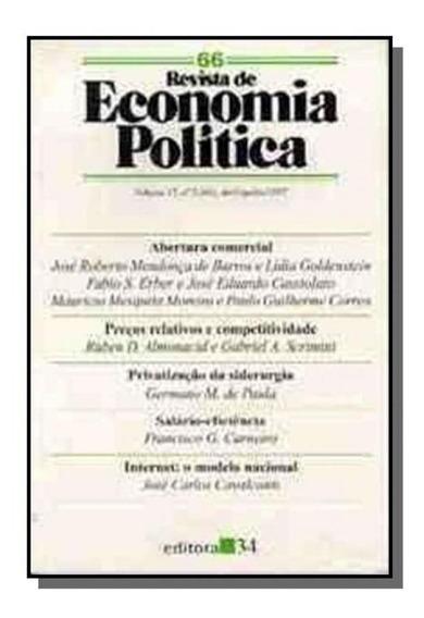 Revista De Economia Politica Vol 28, N 2 ( Abril-j