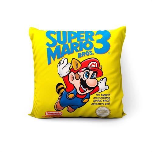 Cojín Super Mario Bros. 3 45x45cm Vudú Love