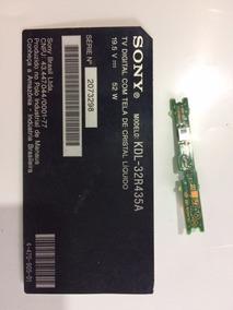 Sensor Do Controle Da Tv Sony Modelo Kdl-32r435a