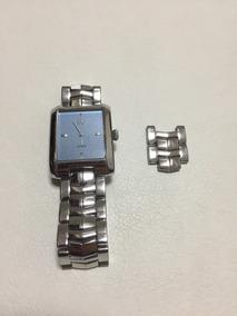Relógio Guess Quadrado - Original Semi Novo