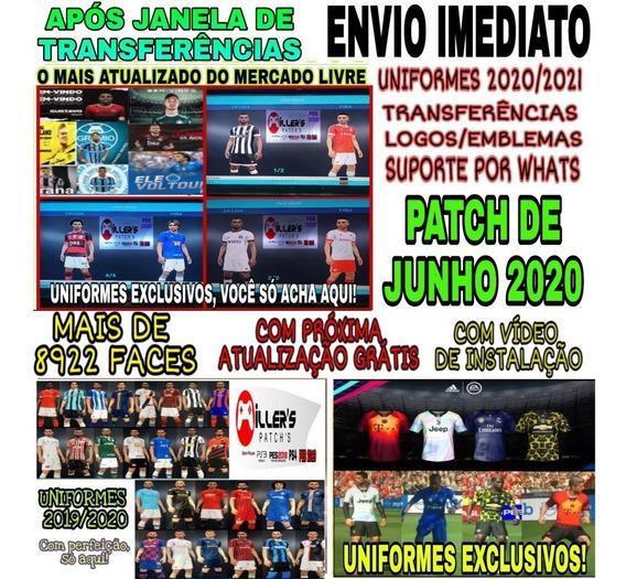 Patch Efootball 2020 Pes 2018 Ps3 Uniformes Elencos 2020