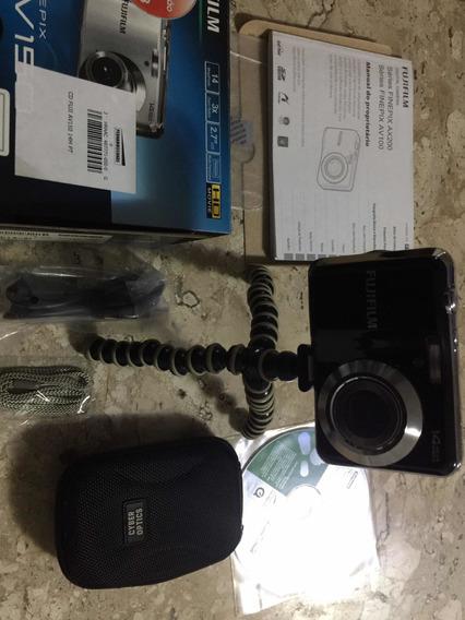 Câmera Fuji Modelo Av 150 Completíssima Até Com Tripé
