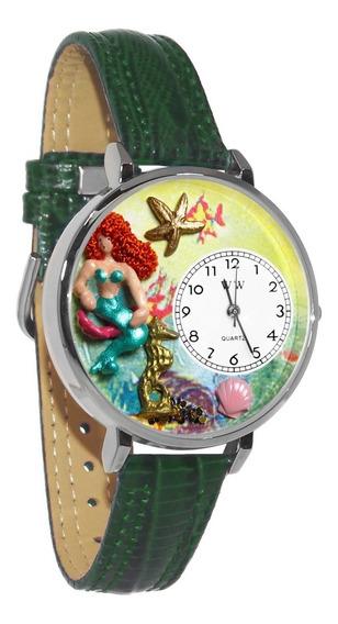 Sirena Reloj De Plata (grande)