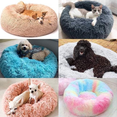 Cama Donut Para Perros Y Gatos Tallas S, M, L, Xl, Xxl