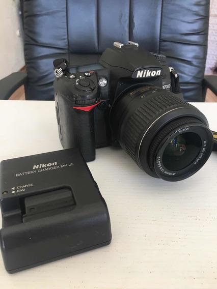 Camera Nikon D7000, Acompanha Carregador E 2 Baterias.