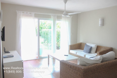Cocotal Second Floor Apartment Fully Furnished 2 Bedrooms Golf View