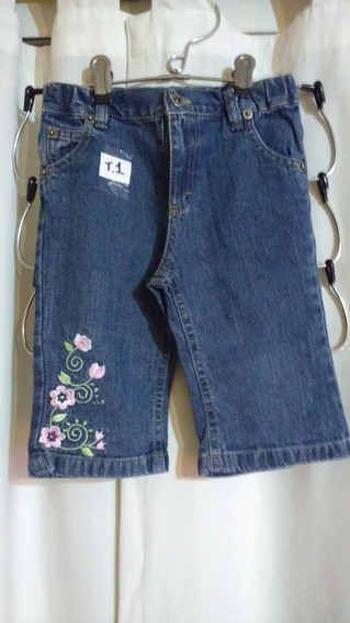 Pantalon De Jeans T. 12/18 Meses Cheeky