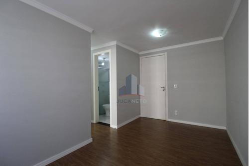 Imagem 1 de 8 de Apartamento Com 1 Dormitório Para Alugar, 39 M² Por R$ 697,50/mês - Parque São Vicente - Mauá/sp - Ap1197
