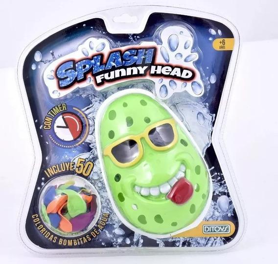 Splash Timer Funny Head Ditoys