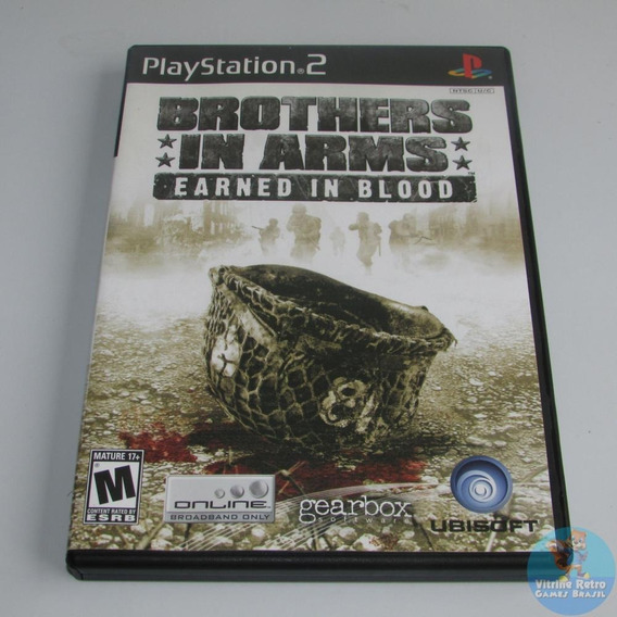 Ps2 Brothers In Arms Earned In Blood Original Americano !!
