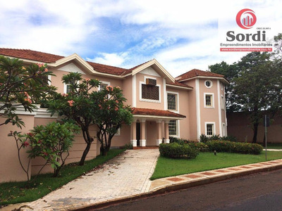 Sobrado Com 4 Dormitórios À Venda, 614 M² Por R$ 2.500.000 - Bonfim Paulista - Ribeirão Preto/sp - So0236
