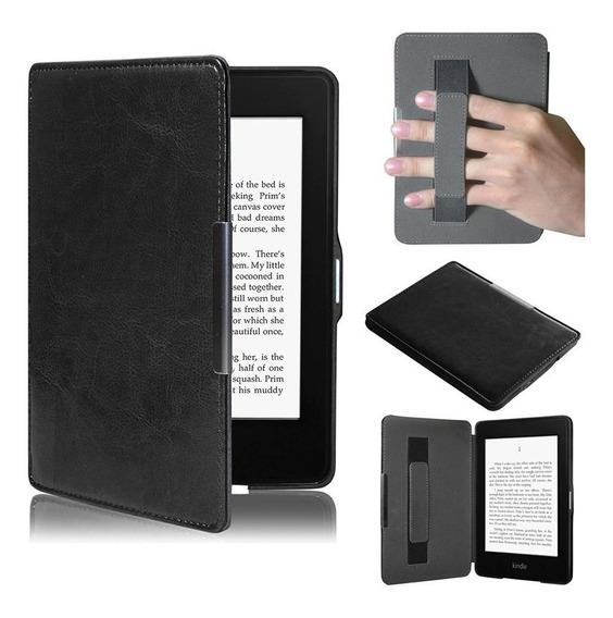 Capa Case De Couro Kindle Paperwhite Geração Alça Traseira