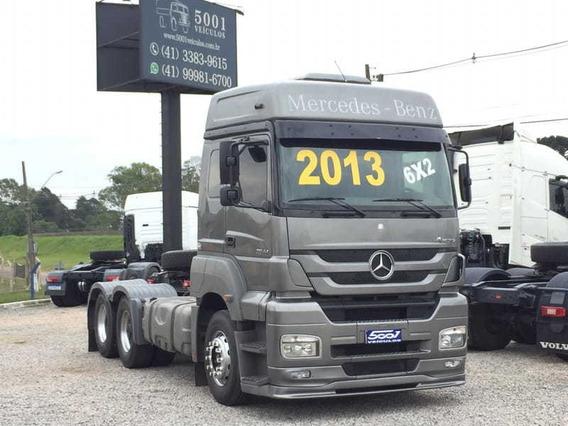 Mercedes Axor 2544 6x2 Ano 2013