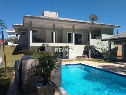Casa Com 3 Dormitórios À Venda, 350 M² Por R$ 1.500.000,00 - Residencial Dos Lagos - Itupeva/sp - Ca1805