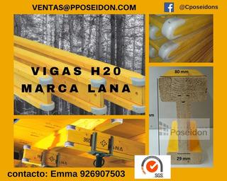 Vigas H20 Marca Lana 2.90 Sin Igv