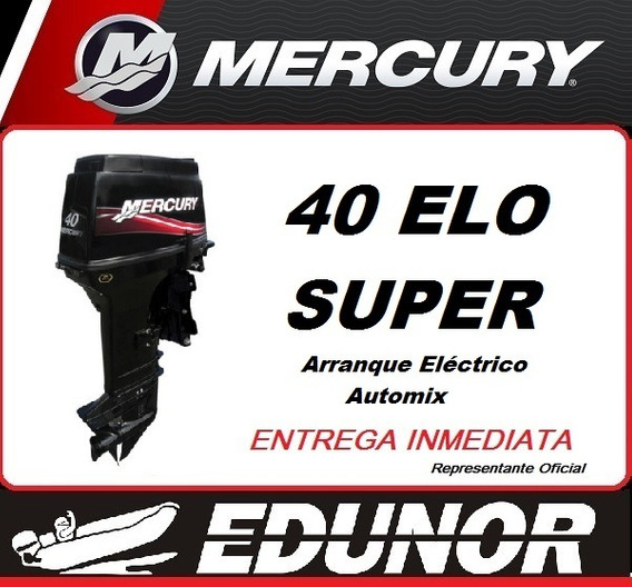 Mercury 40 Elo Super Oferta - Edunor