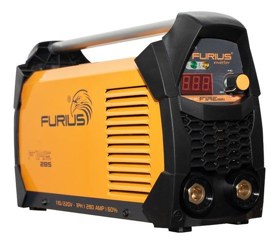 Maquina Soldar / Furius Fire 285 - 280a 110/220v