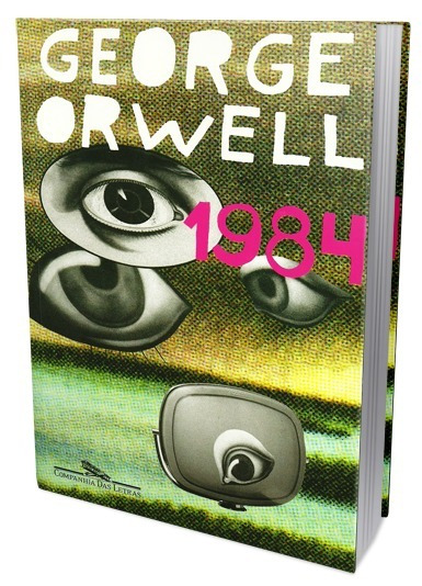 Livro 1984 George Orwell Big Brother Literatura Estrangeira