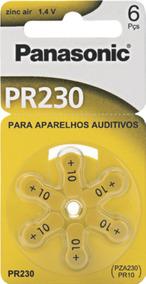 60 Baterias Auditivas Zinc Air Pr-230 (10 Cart)